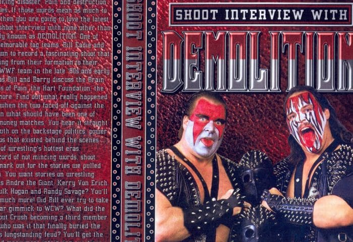 Demolition Shoot Interview (Ax and Smash)