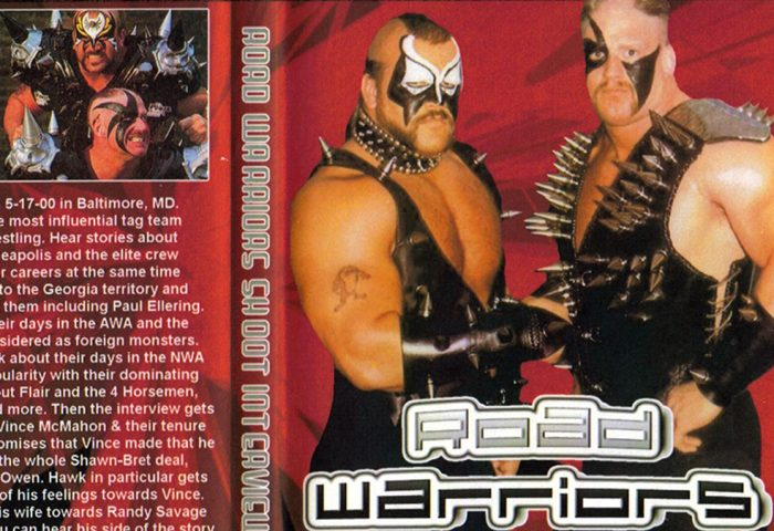 Road Warriors Shoot Interview on Title Match Network