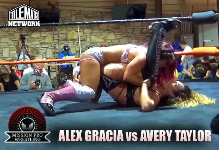 Alex Gracia vs Avery Taylor - Mission Pro Wrestling JPG 1200x675