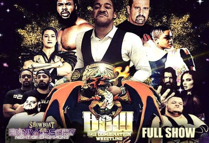 BCW Brii Combination Wrestling 4th Anniversary 1200x675 Title Match Network Graphic