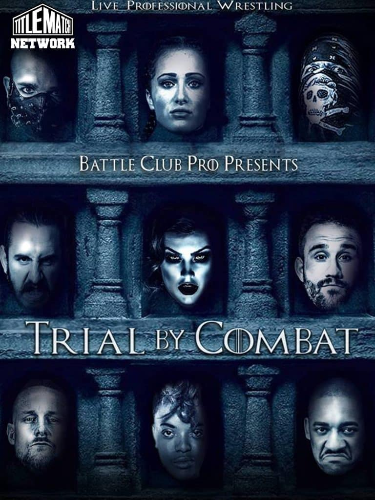 Battle Club Pro Trial By Combat iPPV 18x24 Title Match Network