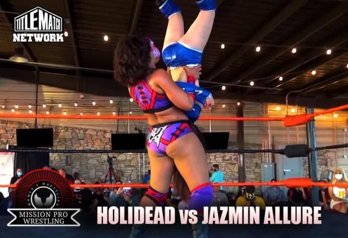 Holidead vs Jazmin Allure - Mission Pro Wrestling JPG 1200x675