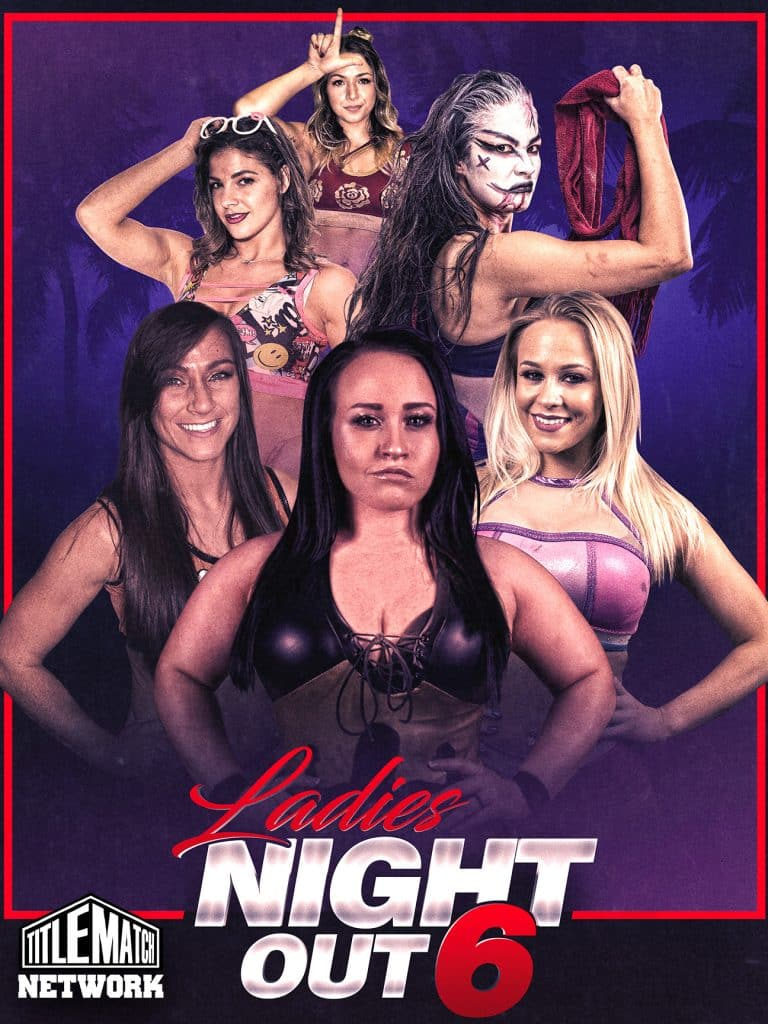 Ladies Night Out 6 18x24