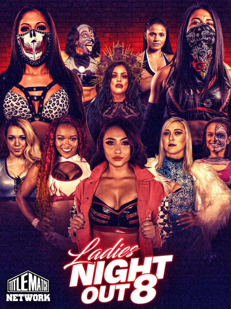 Ladies Night Out 8 18x24