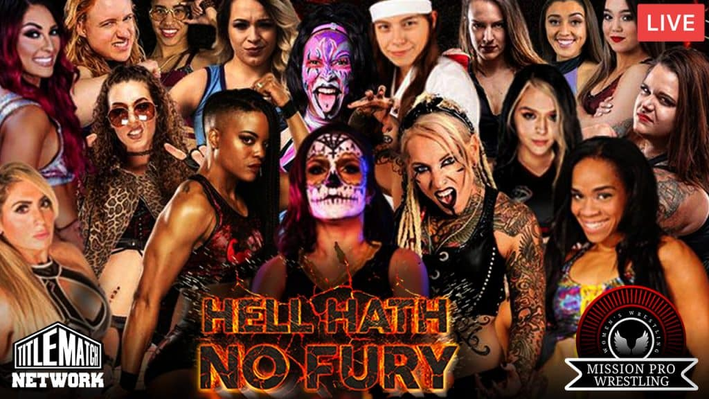 Mission Pro Wrestling - Hell Hath No Fury 1280x720 iPPV Livestream Replay Title Match Network