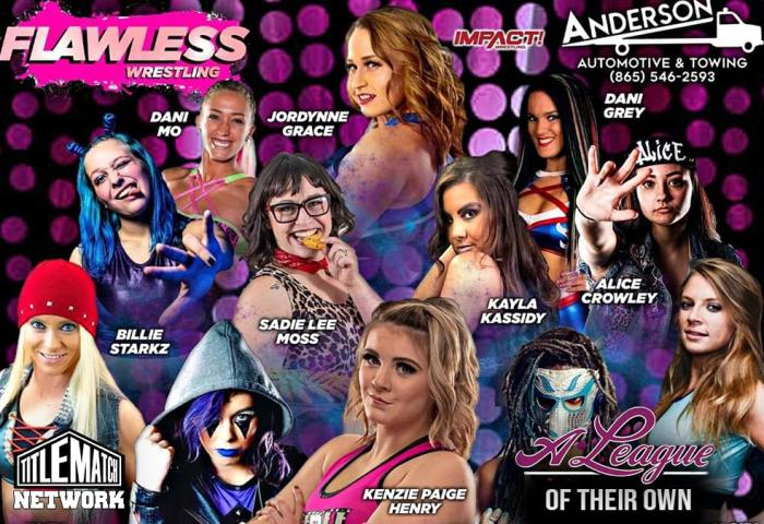 FLAWLESS A League of Their Own 10.10.20 - Title Match Network 1200x675 Graphic NEW