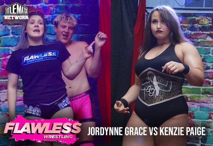 Jordynne Grace vs Kenzie Paige Henry 1200x675 Graphic Title Match Network - Flawless Women's Wrestling NEW