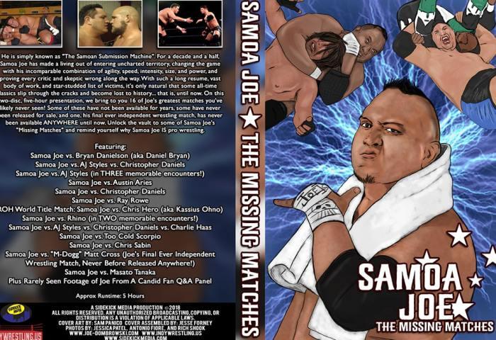 Samoa Joe The Missing Matches 1200x675 Joe Dombrowski - Title Match Network