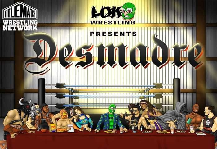 Loko Wrestling Desmadre 11.19.20 - Title Match Network 1280x720