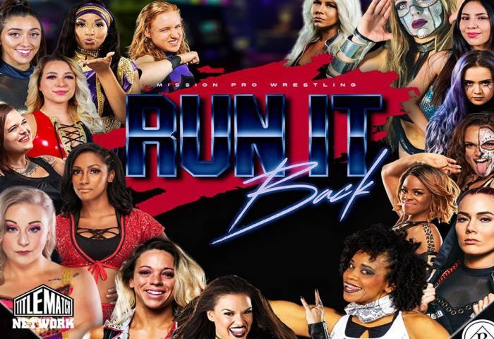 Mission Pro Wrestling Run it Back Dec 2020 iPPV 1200x675 Graphic Title Match Network