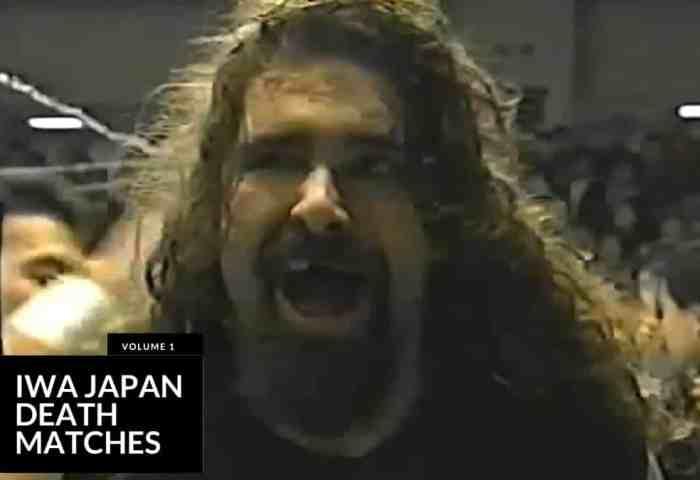 IWA Japan Death Matches Vol 1 JPG 1200x675 Title Match Network