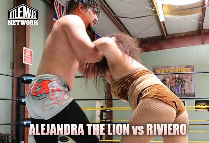 Alejandra the Lion vs Riviero Customs Mission Pro Wrestling JPG 1200x675