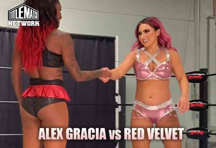 Alex Gracia vs Red Velvet Customs Mission Pro Wrestling JPG 1200x675