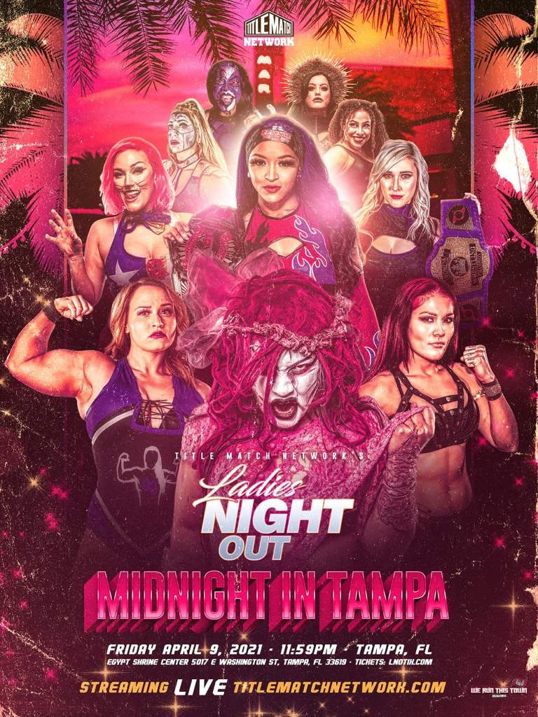 TITLE MATCH NETWORK - LADIES NIGHT OUT (18x24 POSTER) Ivelisse New1 small