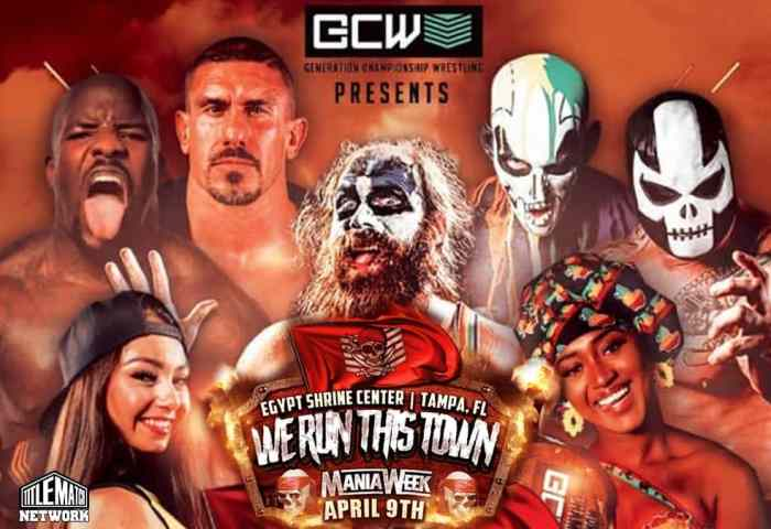 GCW Generation Championship Wrestling We Run This Town 4.9.21 Poster 1200x675 New1