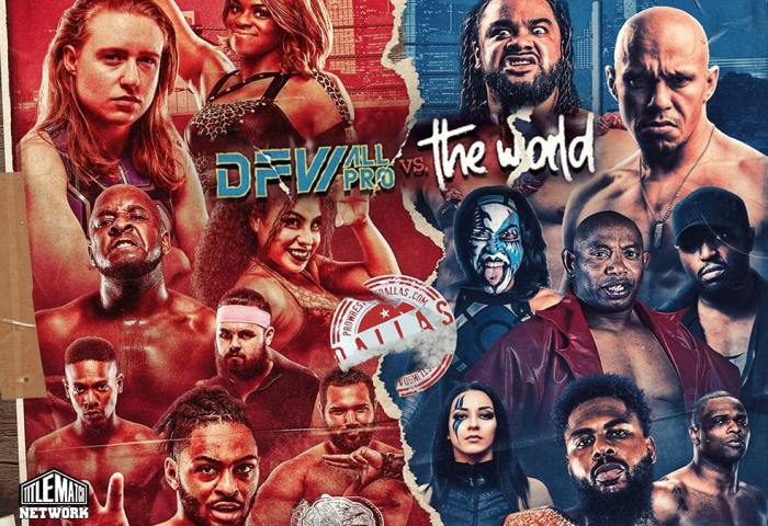 VIP Wrestling DFW All Pro vs The World JPG 1200x675 Title Match Network small