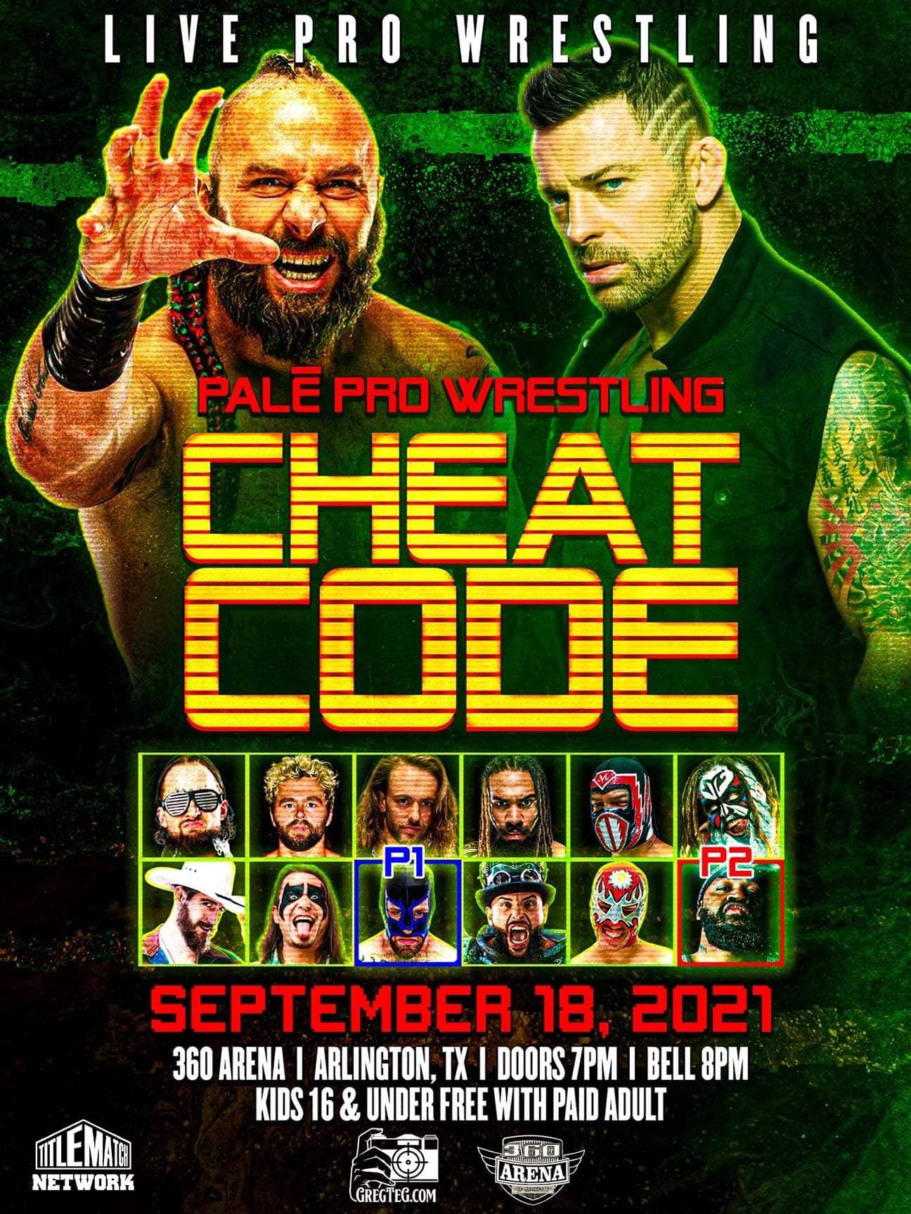Pale Pro Wrestling – Cheat Code
