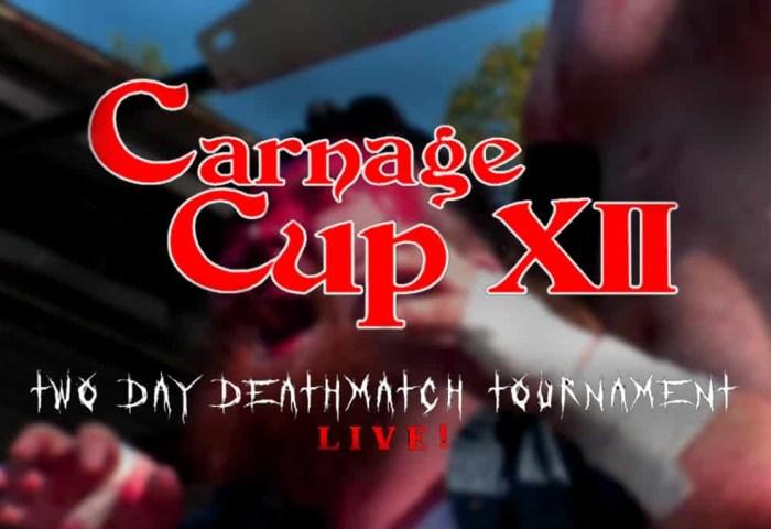 carnage cup 12 livestream